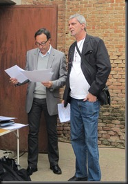 Fernando Olmeda y Mariano Crespo