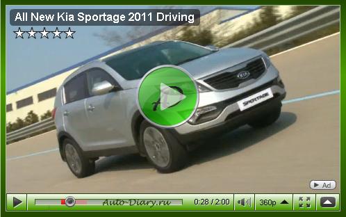 Видео новая KIA SPortage 2010