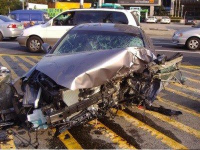 Авария Hyundai Genesis Coupe