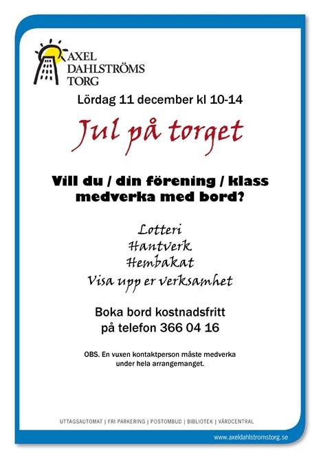 Jul på torget - boka bord1