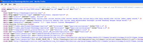 pengaturan metadata pada joomla