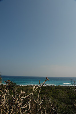 Facing east from Longpan Park, Kenting.