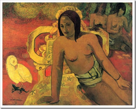 paul gauguin vairumati