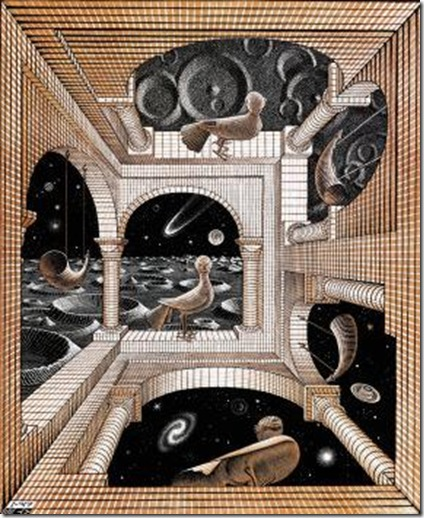 escher another world
