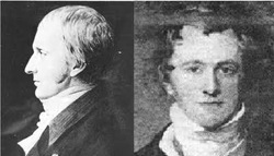 Thomas Wedgwood e Sir Humphry Davy