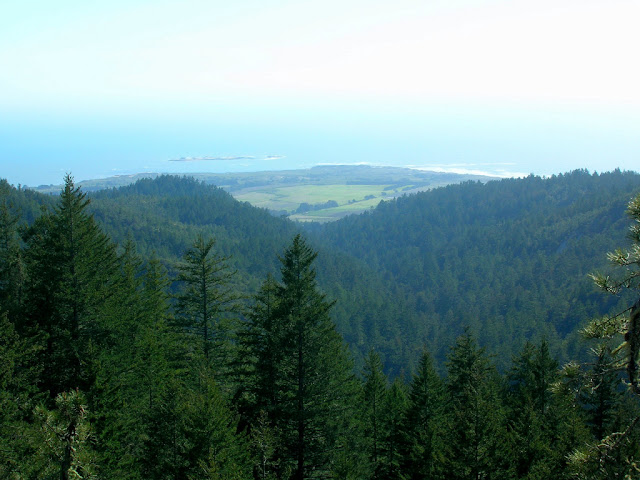Ano Nuevo from Chalk Mountain