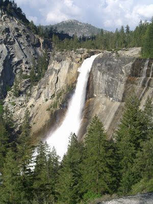 Nevada Falls from the John Muir Trail