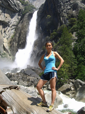 Serena and Lower Yosemite Falls