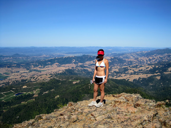 Serena on the summit