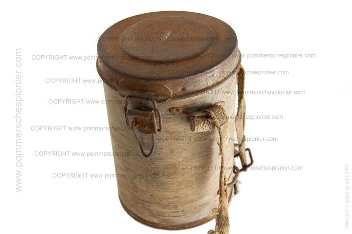 Mustard Gas Canister Ww1 Ersatz gas mask canisters Mustard Gas Canister Ww1