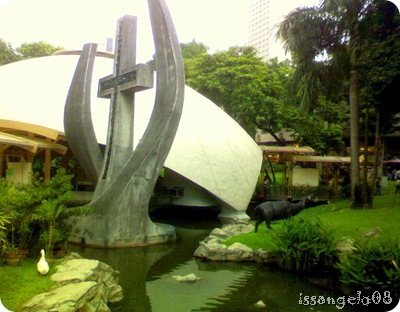 Greenbelt Chapel in Makati (exterior)