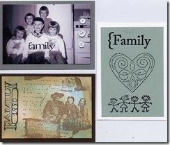 Family ATC's