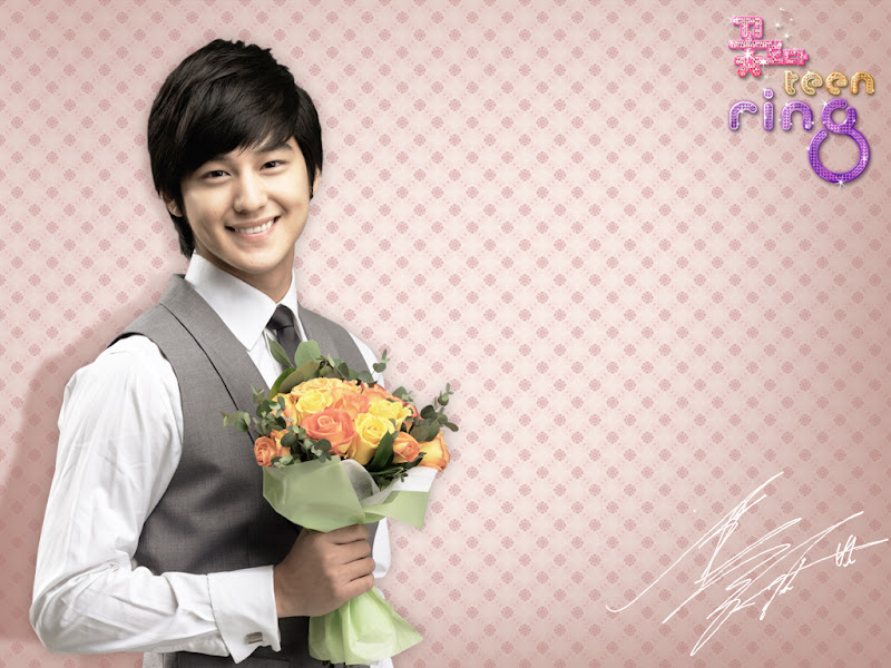 Kim Beom (Kim Sang Bum) Pemeran Soo Yi Jung F4 Korea Boys Before Flowers