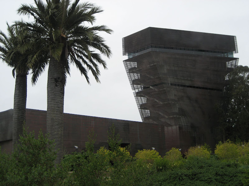 舊金山-地震震出來的新美術館de Young Museum