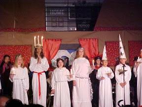Fiesta Santa Lucía en Suecia