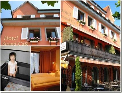 Hotel strand-cafe / Meersburg