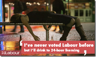 labour drinker