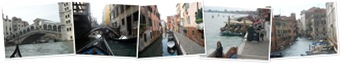 View The canals in Venice