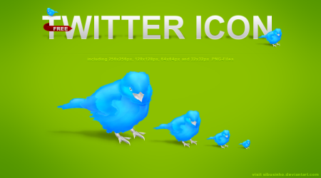Twitter Icon by Sibusinho