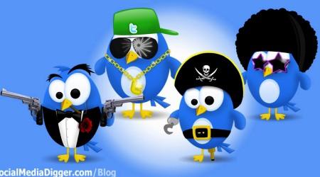 Twitter Icon Pack 2 by Kamarashev