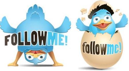 Happy twitter icons
