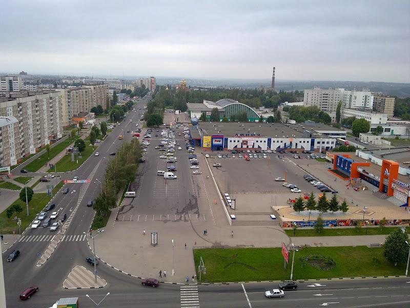 крыши Белгорода