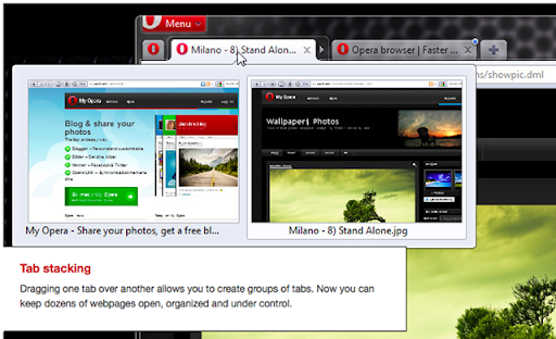 Browser User Interface Opera 11 GUI PSD