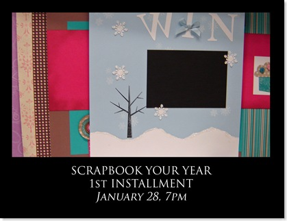 Scrapbook Your Year