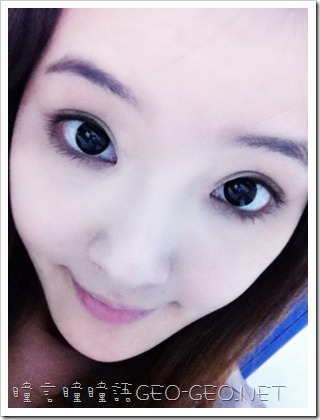 GEO隱形眼鏡-CK-105小S黑瞳-6