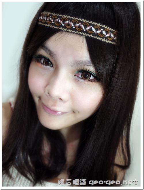 GEO隱形眼鏡 CM-834天使金咖-3