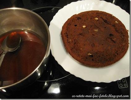 IMG_5859_Tort Suprem de Ciocolată - insiropam blatul