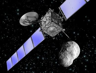 rosetta e asteroide steins