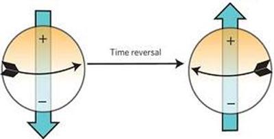 reversão de dipolo do elétron
