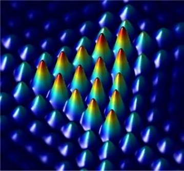 rotação da luz com difração triangular
