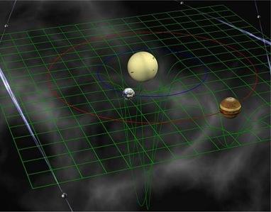 ilustração de nova balança planetária