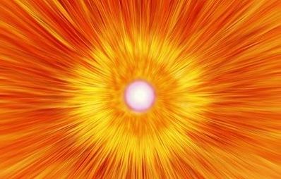 energia gerada na aniquilação entre matéria e antimatéria