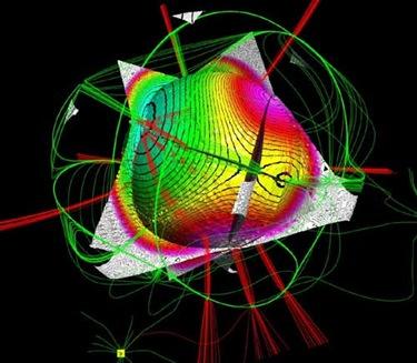 modelo quântico da molécula de água