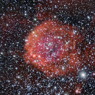 enxame aberto NGC 371