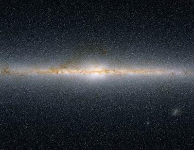 região próxima do centro da Via Láctea