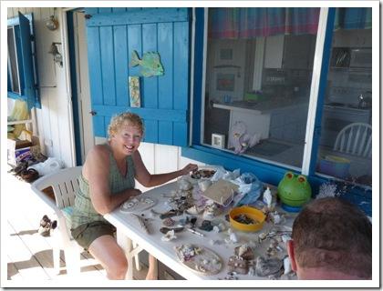 Randy crafting