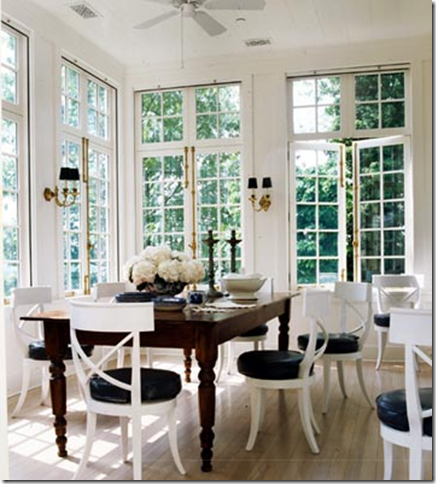 Another Conservatory Style Breakfast Room The French Doors Are Stunning I Can Imagine Throwing Them Open And Enjoying A Meal Inside But Feeling As If