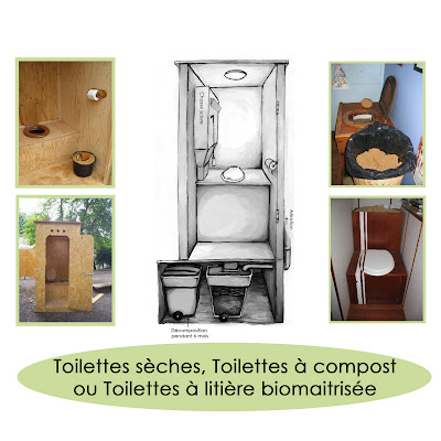 les toilettes seches aandoraa. Black Bedroom Furniture Sets. Home Design Ideas