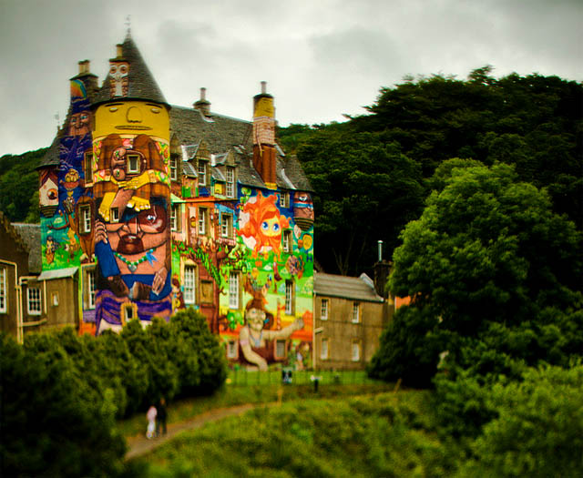 erhywerthrfgd Amazing 3D Graffiti Art, Castles and buildings : Part 2