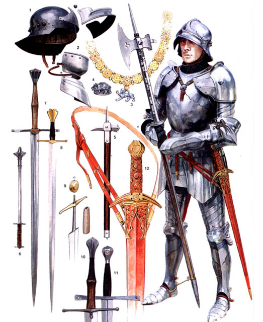an overview of the types of armor made in medieval times 11052014 midieval weapons and combat - knights armor  a fascinating tour of medieval arms  italy and learn how each set would have been made.