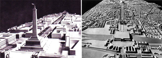 Totalitarian architecture of the third reich for Architecture nazi