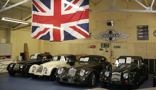 Morgan Car Logo. The Morgan Motor Company will