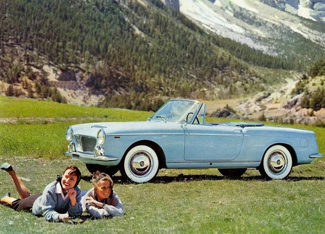 c11 Girls & Cars in European Vintage Ads