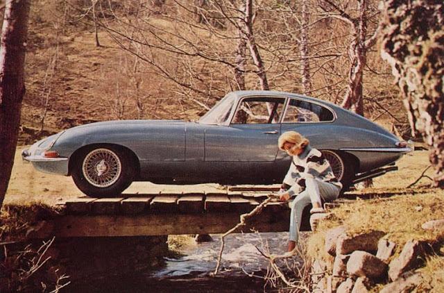 c16 Girls & Cars in European Vintage Ads