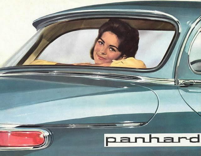 c5 Girls & Cars in European Vintage Ads