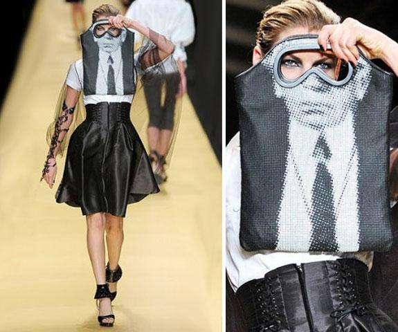 Karl Lagerfeld alışveriş poşeti